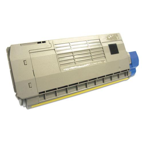 Remanufactured Magenta Toner, Replacement for Oki 44318602, 11,500 Page-Yield. Picture 2