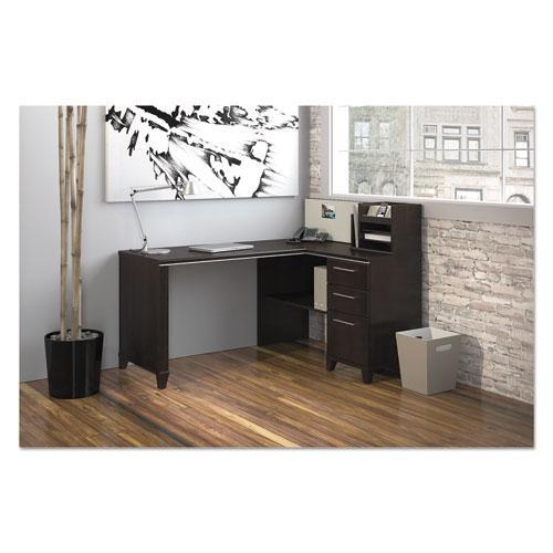 "Enterprise Collection Corner Desk, 60"" x 47.25"" x 41.75"", Mocha Cherry, (Box 2 of 2). Picture 2"