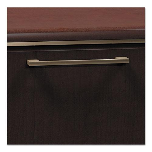 Bush Business Furniture Enterprise 30W 2 Drawer Lateral File Cabinet, Mocha Cherry. Picture 3