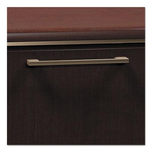 """Enterprise Collection L-Desk Surface, 60"""" x 60"""" x 29.75"""", Mocha Cherry, (Box 2 of 2). Picture 4"""