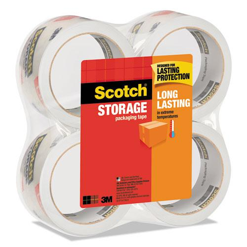 """Storage Tape, 3"""" Core, 1.88"""" x 54.6 yds, Clear, 4/Pack. Picture 3"""
