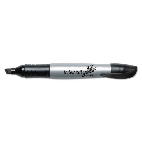 Intensity Chisel Tip Permanent Marker, Broad, Tuxedo Black, Dozen. Picture 2
