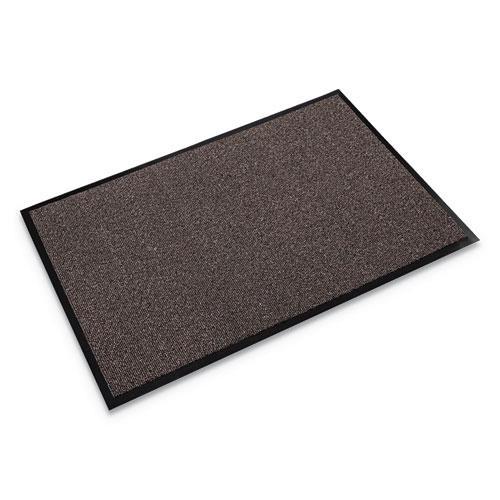 Walk-A-Way Indoor Wiper Mat, Olefin, 36 x 60, Brown. The main picture.