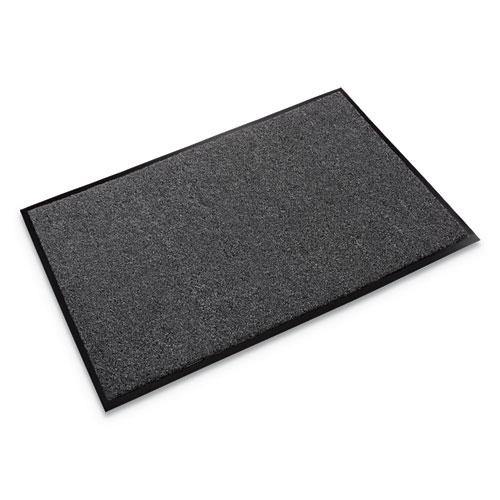 Rely-On Olefin Indoor Wiper Mat, 24 x 36, Charcoal. Picture 1
