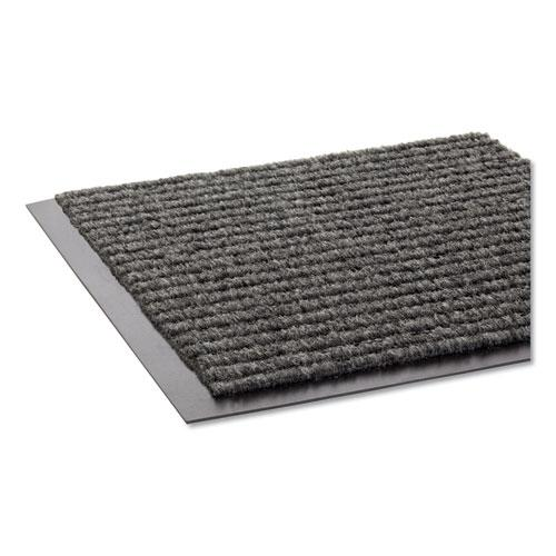 Needle Rib Wipe and Scrape Mat, Polypropylene, 48 x 72, Gray. Picture 1