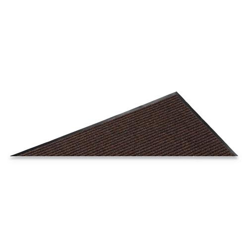 Needle Rib Wipe and Scrape Mat, Polypropylene, 48 x 72, Brown. Picture 3