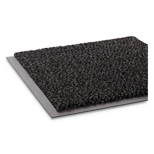 Dust-Star Microfiber Wiper Mat, 36 x 60, Charcoal. Picture 4