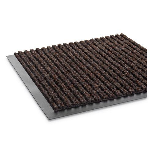 Needle Rib Wipe and Scrape Mat, Polypropylene, 48 x 72, Brown. Picture 4