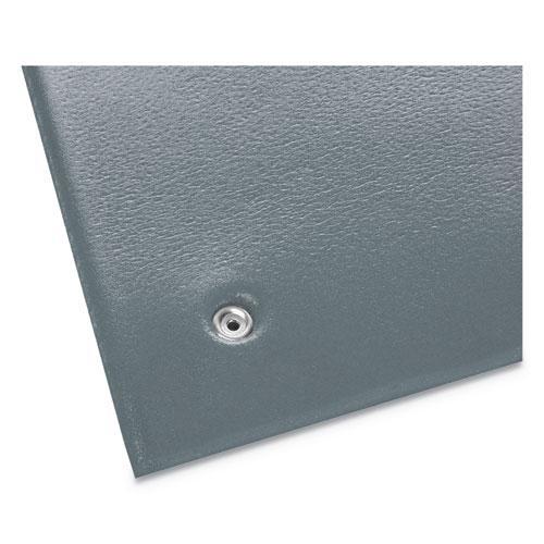Antistatic Comfort-King Mat, Sponge, 24 x 60, Steel Gray. Picture 3