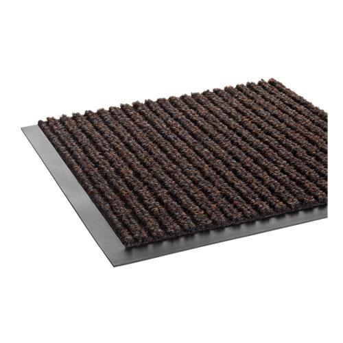 Needle Rib Wipe and Scrape Mat, Polypropylene, 36 x 60, Brown. Picture 3
