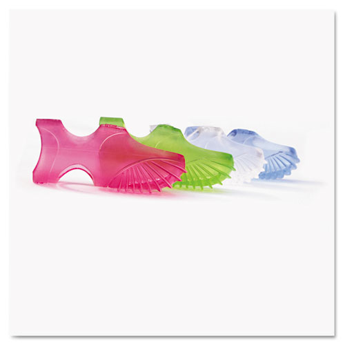 Tippi Micro-Gel Fingertip Grips, Size 7, Medium, Assorted, 10/Pack. Picture 1