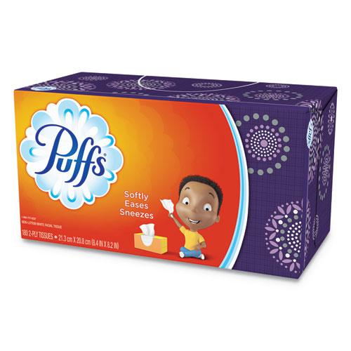 White Facial Tissue, 2-Ply, 180 Sheets/Box. Picture 1