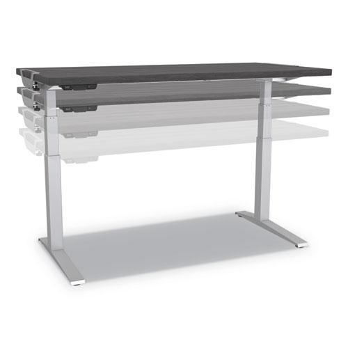 Levado Laminate Table Top (Top Only), 60w x 30d, White. Picture 2