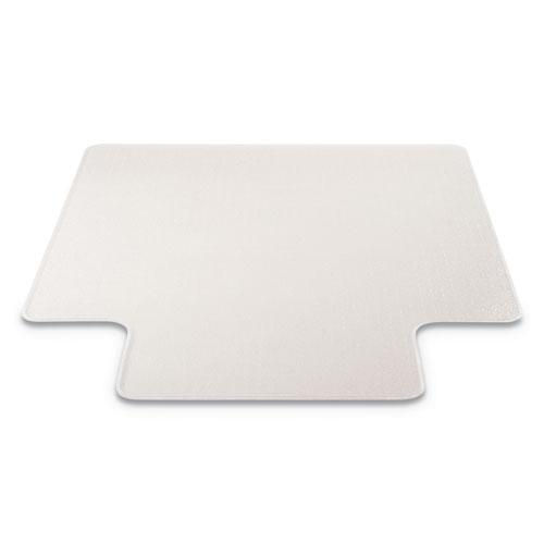 RollaMat Frequent Use Chair Mat, Med Pile Carpet, Flat, 36 x 48, Lipped, Clear. Picture 2