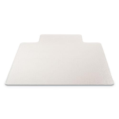 RollaMat Frequent Use Chair Mat, Med Pile Carpet, Flat, 36 x 48, Lipped, Clear. Picture 5