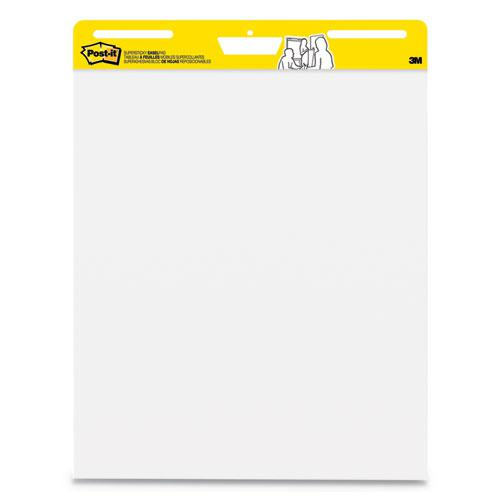 Self-Stick Wall Pad, 25 x 30, White, 30 Sheets, 2/Carton. Picture 1