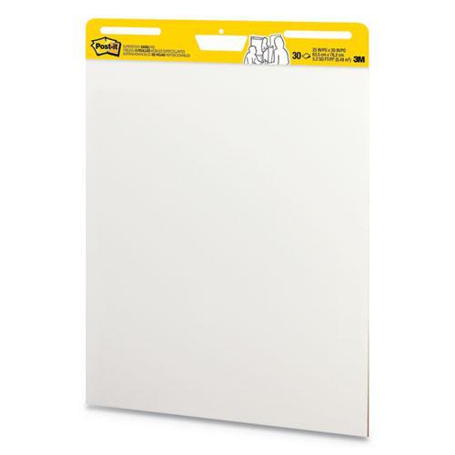 Self-Stick Wall Pad, 25 x 30, White, 30 Sheets, 2/Carton. Picture 2
