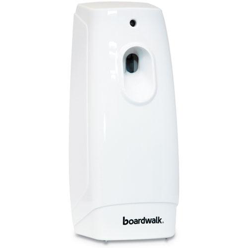 "Classic Metered Air Freshener Dispenser, 4"" x 3"" x 9.5"", White. Picture 1"