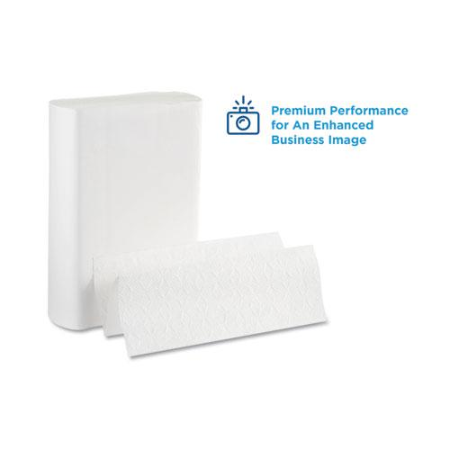 Pacific Blue Ultra Folded Paper Towels, 10 1/5x10 4/5,White, 220/Pack, 10 Pks/CT. Picture 4