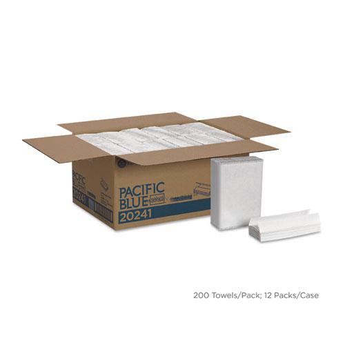 Pacific Blue Select C-Fold Paper Towel, 10 1/10 x 13 2/5,White,200/PK, 12 PK/CT. Picture 1