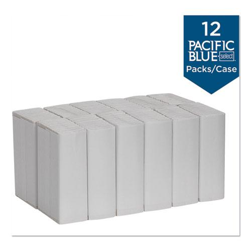 Pacific Blue Select C-Fold Paper Towels, 10 1/10 x 13 1/5,White,120/PK,12 PK/Ct. Picture 5