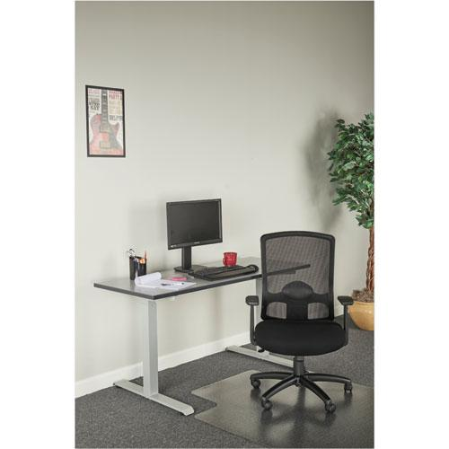 Alera Etros Series High-Back Swivel/Tilt Chair, Supports up to 275 lbs, Black Seat/Black Back, Black Base. Picture 3
