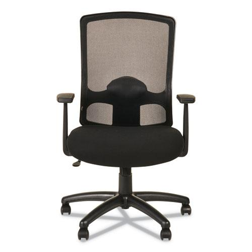 Alera Etros Series High-Back Swivel/Tilt Chair, Supports up to 275 lbs, Black Seat/Black Back, Black Base. Picture 8
