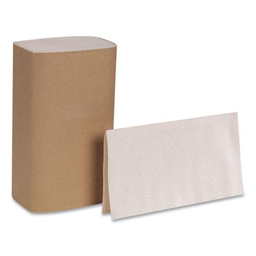 Pacific Blue Basic S-Fold Paper Towels, 10 1/4x9 1/4, Brown, 250/Pack, 16 PK/CT. Picture 4