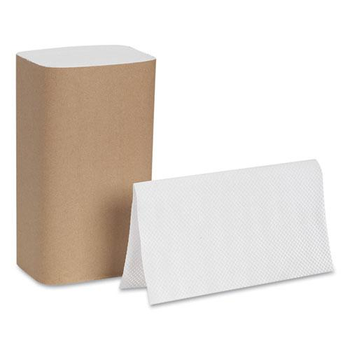 Pacific Blue Basic S-Fold Paper Towels, 10 1/4x9 1/4, White, 250/Pack, 16 PK/CT. Picture 4