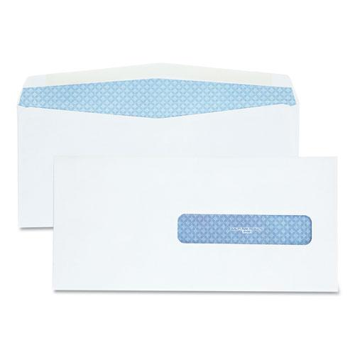 Security Tinted Insurance Claim Form Envelope, Commercial Flap, Gummed Closure, 4.5 x 9.5, White, 500/Box. Picture 1