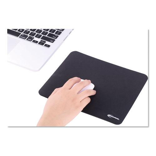 Latex-Free Mouse Pad, Black. Picture 2