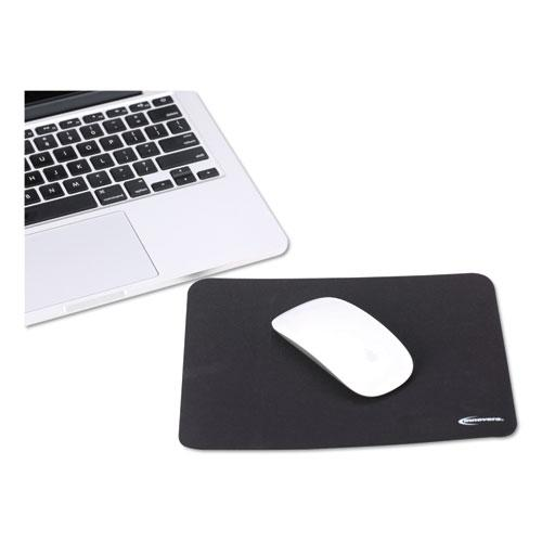 Latex-Free Mouse Pad, Black. Picture 4