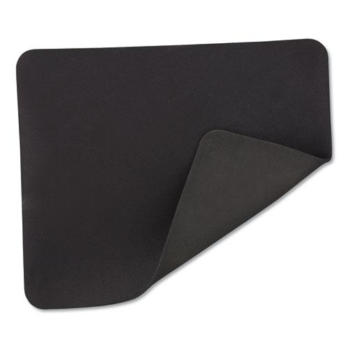 Latex-Free Mouse Pad, Black. Picture 3