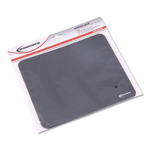 Latex-Free Mouse Pad, Black. Picture 6