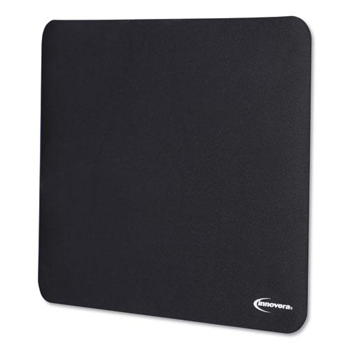 Latex-Free Mouse Pad, Black. Picture 5