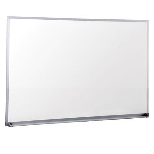 Dry Erase Board, Melamine, 36 x 24, Satin-Finished Aluminum Frame. Picture 1
