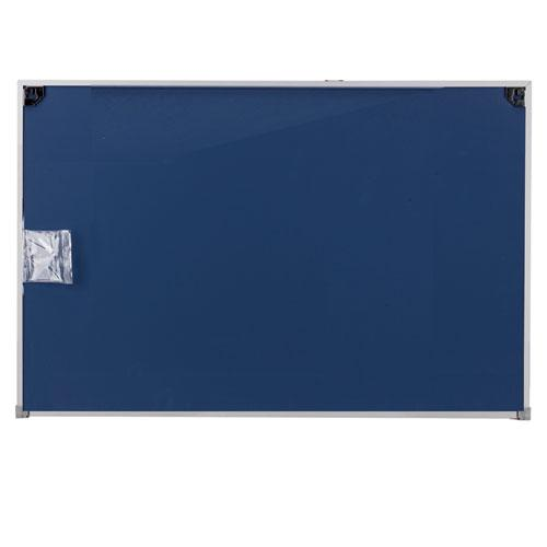 Dry Erase Board, Melamine, 36 x 24, Satin-Finished Aluminum Frame. Picture 3