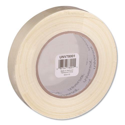 """190# Medium Grade Filament Tape, 3"""" Core, 24 mm x 54.8 m, Clear. Picture 1"""