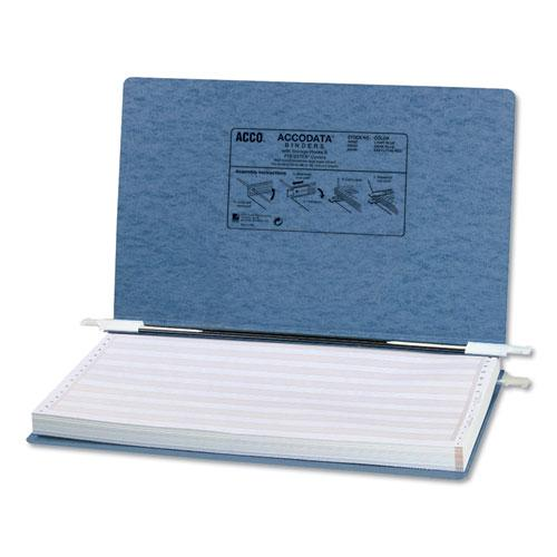 """PRESSTEX Covers with Storage Hooks, 2 Posts, 6"""" Capacity, 14.88 x 8.5, Light Blue. Picture 1"""