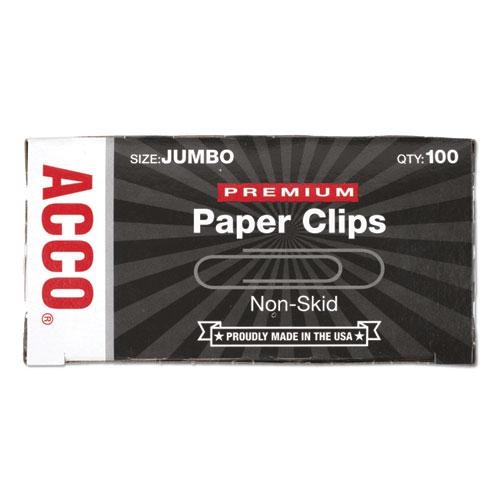 Paper Clips, Jumbo, Silver, 1,000/Pack. Picture 2