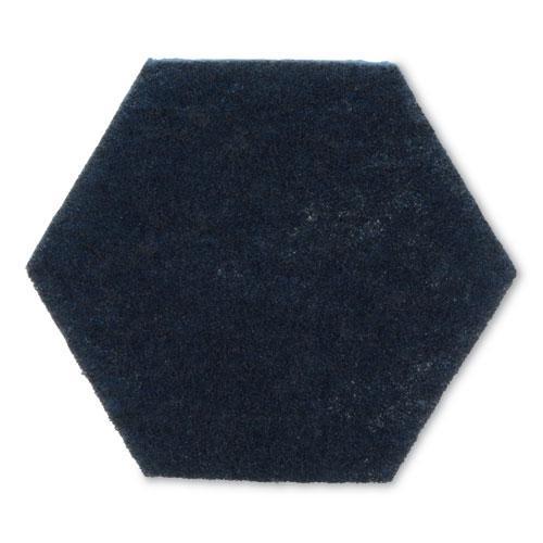 """Low Scratch Scour Pad 2000HEX, 5.75"""" x 5"""", Blue, 15/Carton. Picture 4"""