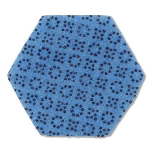 """Low Scratch Scour Sponge 3000HEX, 4.45"""" x 3.85"""", Blue, 16/Carton. Picture 3"""