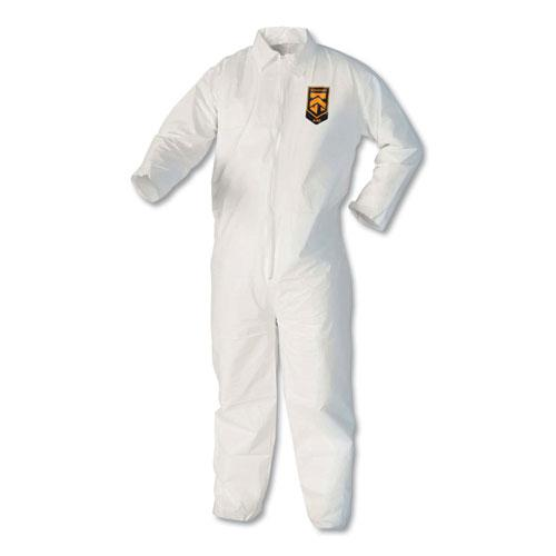 A40 Coveralls, X-Large, White. Picture 1