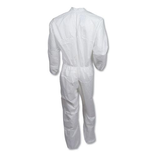 A40 Coveralls, X-Large, White. Picture 2