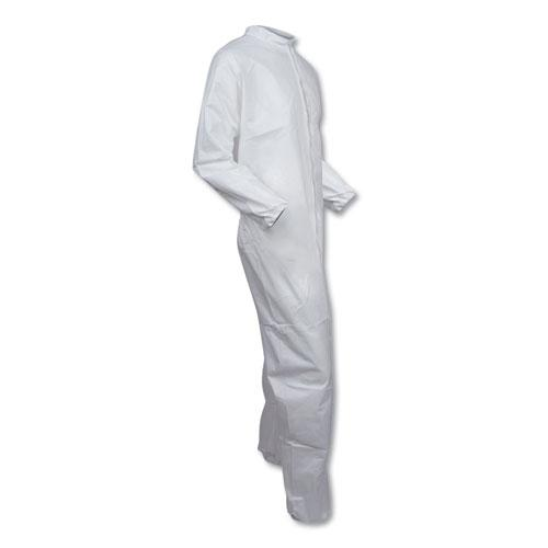 A40 Coveralls, X-Large, White. Picture 5