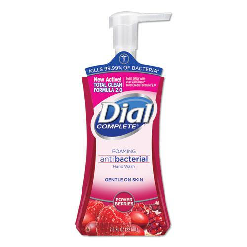 Antibacterial Foaming Hand Wash, Power Berries, 7.5 oz Pump Bottle. Picture 1