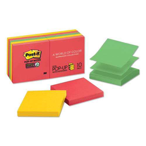 Pop-up 3 x 3 Note Refill, Marrakesh, 90 Notes/Pad, 10 Pads/Pack. Picture 1