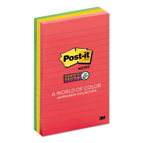 Pads in Marrakesh Colors, Lined, 4 x 6, 90-Sheet, 3/Pack. Picture 2