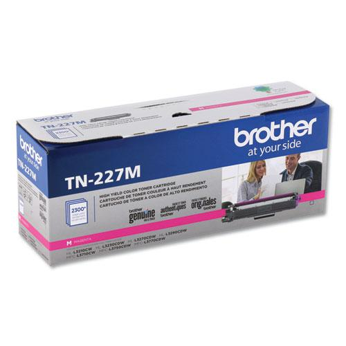 TN227M High-Yield Toner, 2300 Page-Yield, Magenta. The main picture.