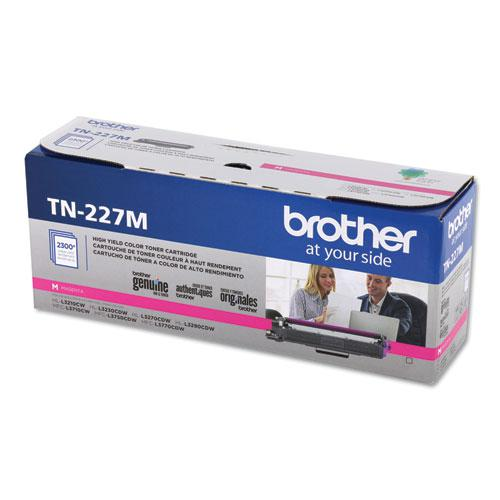 TN227M High-Yield Toner, 2300 Page-Yield, Magenta. Picture 2